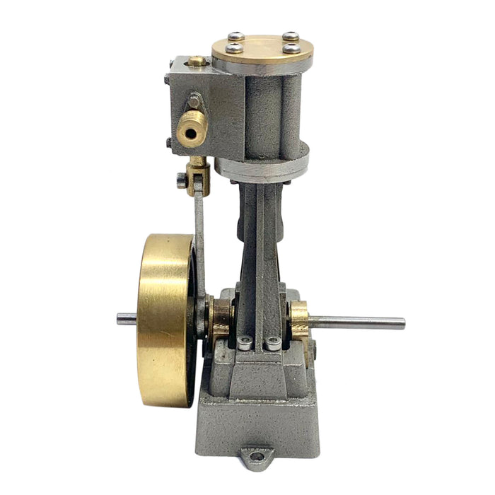 Vertical Single-cylinder Stirling Mini Steam Engine without Boiler for 50-100cm Ship - stirlingkit