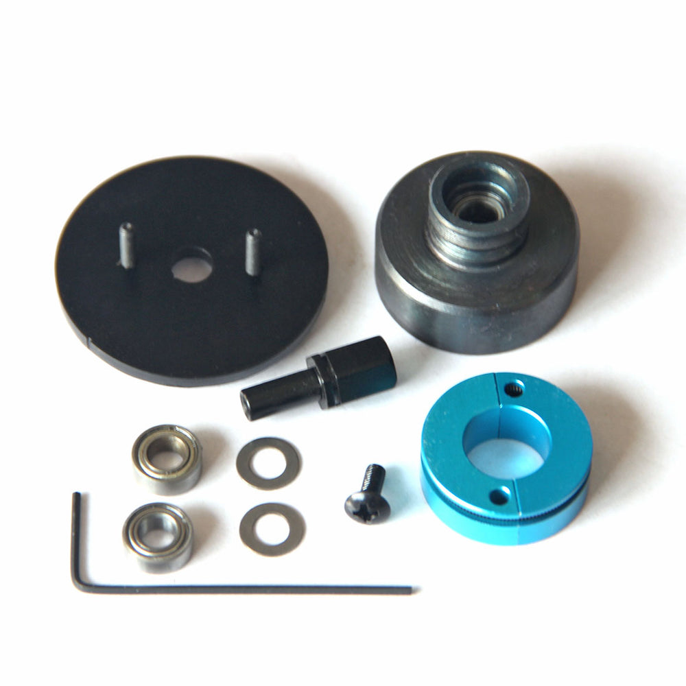 Single V Slot Clutch with Belt Pulley Kit for Toyan FS-L200 2 Cylinder 4 stroke Methanol Engine - stirlingkit