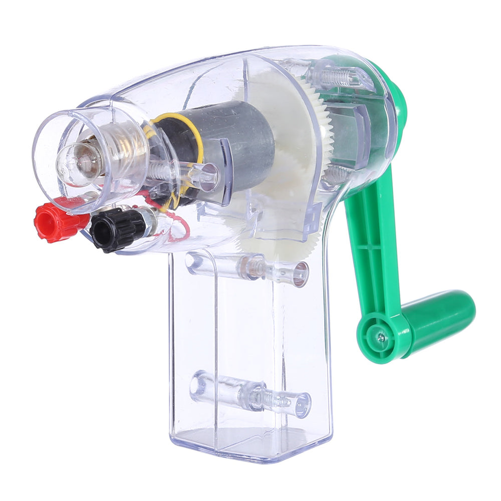 Small Hand Generator Children Experimental Apparatus for Physics Education - stirlingkit