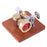 Speed-Adjustable Hot Air Sterling Engine Model with Wooden Base Science Toy - stirlingkit