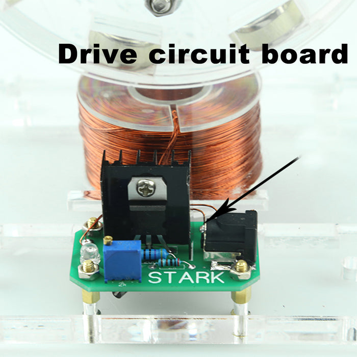 Stark Bedini Brushless Motor Model - stirlingkit
