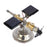 Stark Car Mount Satellite Motor Solar Toy with Sticker Scientific Physical Toy - stirlingkit