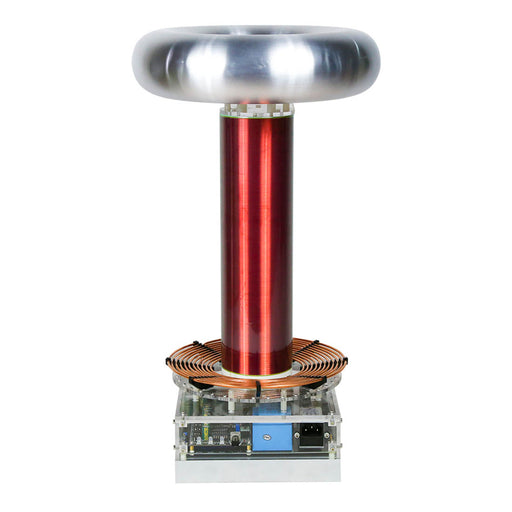Stark Electric Musical Drsstc Tesla Coil Engine One Full-bridge Big Sparks 60CM Arc Experimental Toy - stirlingkit
