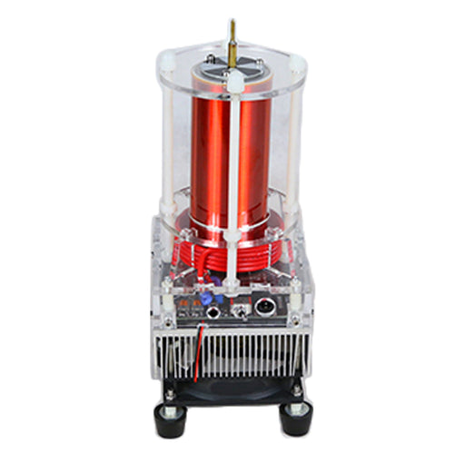 Stark Single Tube Tesla Coil with Glow Tube Musical Educational Exhibits Science Model Toy - stirlingkit