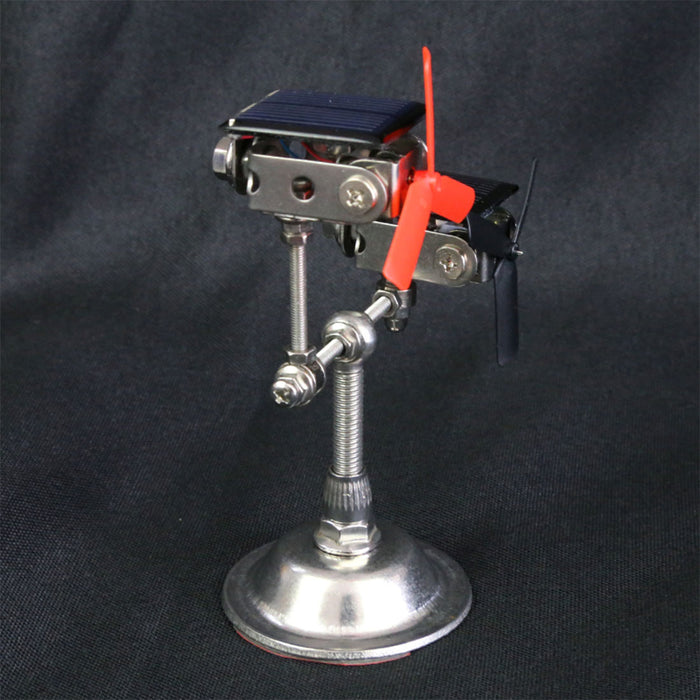 Stark Solar Powered Motor Model with 2 Windmills Science Experiment Toy - stirlingkit