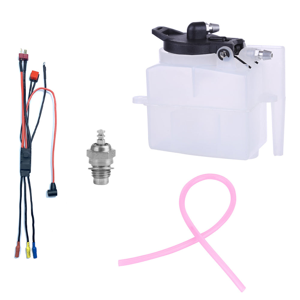 Starter Kit for TOYAN FS-S100WA2 Engine (Glow Plug + ESC + Oil Tank + Tubing) - stirlingkit