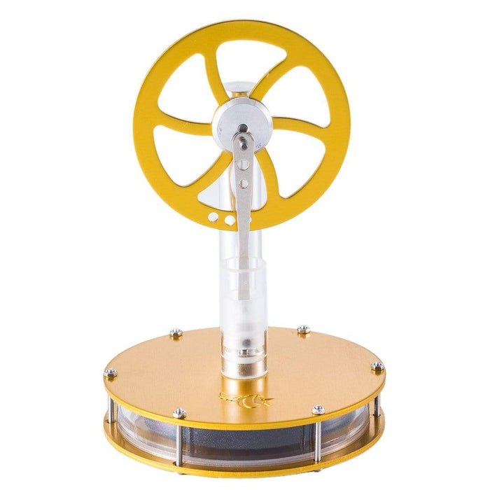 STEM Low Temperature Stirling Engine Motor Model Heat Steam Education DIY Model - stirlingkit