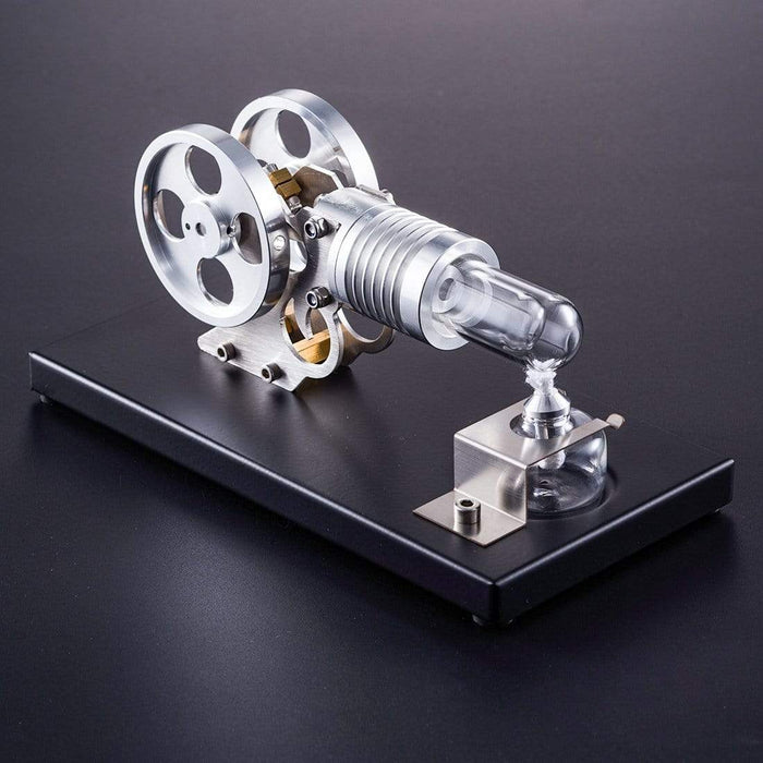 Stirling Engine Kit DIY Manson Engine Stem Steam Model Set With Metal Baseplate - stirlingkit