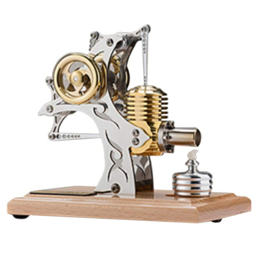 Stirling Engine Kit High-end Precision All-metal Single-cylinder Assembly Movable Metal Mechanical Engine Model - stirlingkit