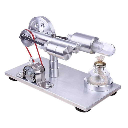 Stirling Engine Kit Hot Air Motor Generator Model DIY Physics Science Experiment Kit - stirlingkit
