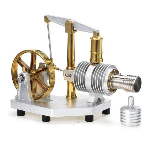 Stirling Engine Kit Large Capacity Boiler Design All-metal Balance Type Stirling Engine Model Toy - stirlingkit