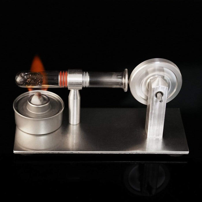 Stirling Engine Kit Model Mini Hot Air Steam Powered Toy Physics Science Experiment - stirlingkit