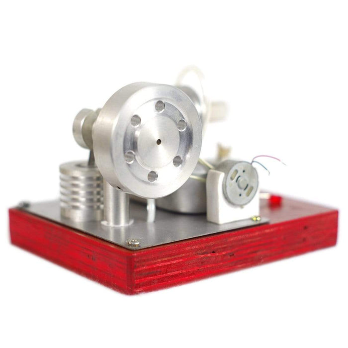 Stirling Engine Kit Model Single-cylinder Split Right Angle Type High-end Creative Gifts for Collection - stirlingkit