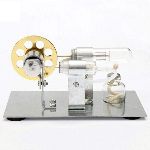 Stirling Engine Kit Motor Model DIY Educational Steam Power Toy Electricity Learning Model - stirlingkit