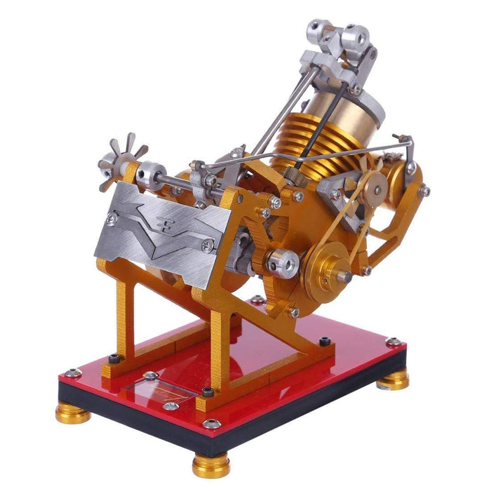 Stirling Engine Kit V1-45 Engine Model Educational Discovery Toy Kit Collection Gift - stirlingkit