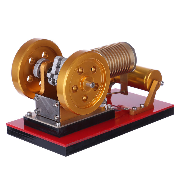 Stirling Engine Kit Suction Fire Type High-end Professional Edition Pure Copper Air Cylinder Heat Energy Model Physics Science Experiment Toy - Stirlingkit