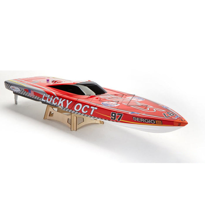 TFL 1126  Lucky OCT Patron Saint Fiberglass Outerlimits Racing Boat ARTR - stirlingkit