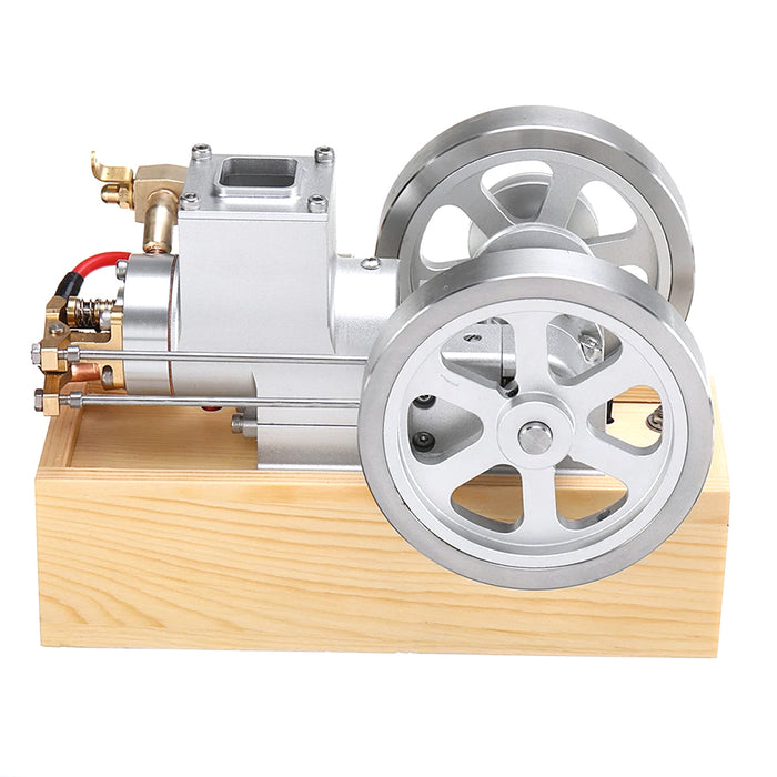 M93 Upgrade Horizontal Hit and Miss Engine With Speed Governor Gasoline Water Cooled ICE Engine - Stirlingkit
