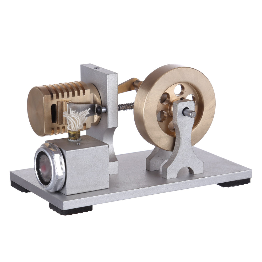 Upgrade Single Cylinder Vacuum Flame Licker Stirling Engine Model Toy - stirlingkit