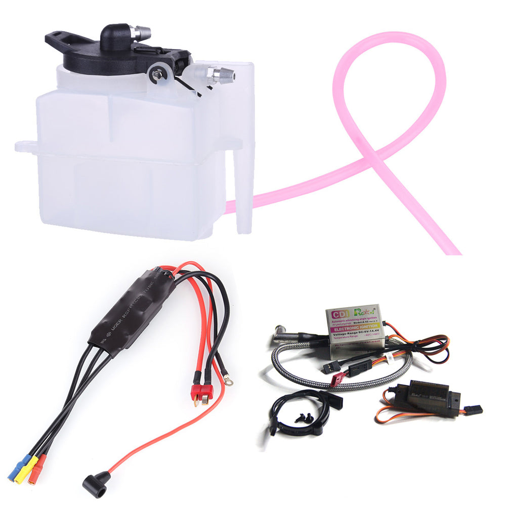 Upgrade Starter Kit CDI Hall Sensor Tachometer for TOYAN FS-S100AT Engine Model - Stirlingkit