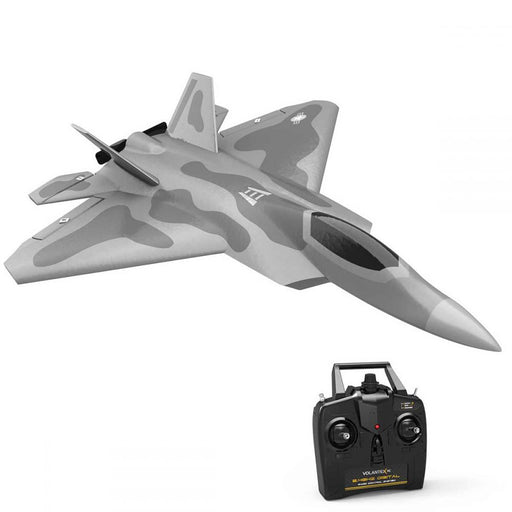 VOLANTEXRC F22 Raptor 260mm Wingspan 2.4G 4CH Airplane with Xpilot Gyro- RTF - stirlingkit