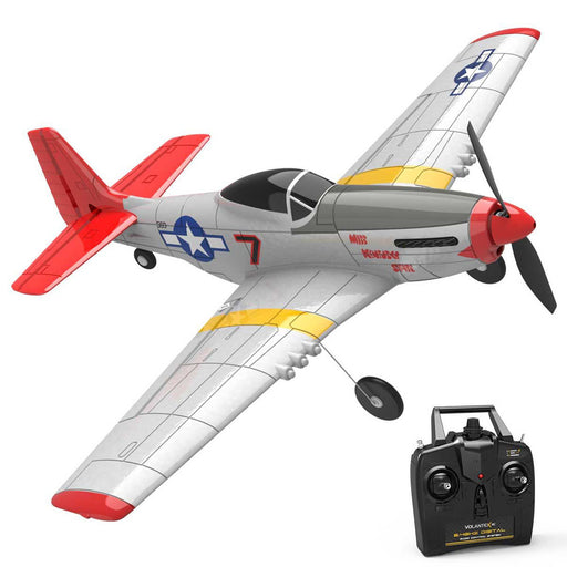 VOLANTEXRC P51D 2.4G 4CH Wingspan Airplane RC Airplane with Xpilot Gyro  - RTF - stirlingkit