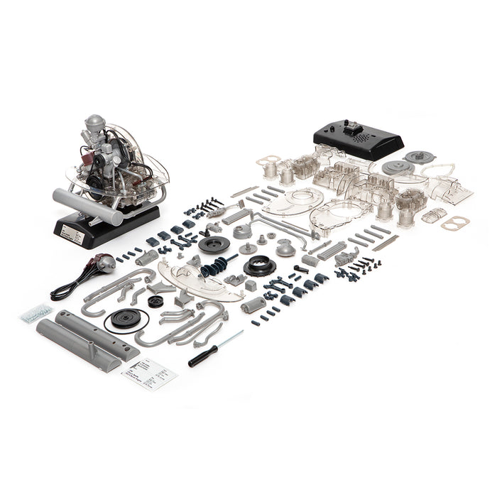 Volkswagen Beetle DIY Simulative Horizontally Opposed Four-cylinder Engine Model Toy - stirlingkit