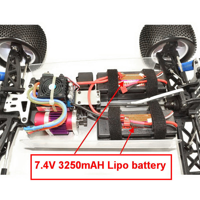 VRX-1 RH811 1/8 Scale 4WD High Speed 2.4GHz Brushless RTR Buggy Truck RC Car - stirlingkit