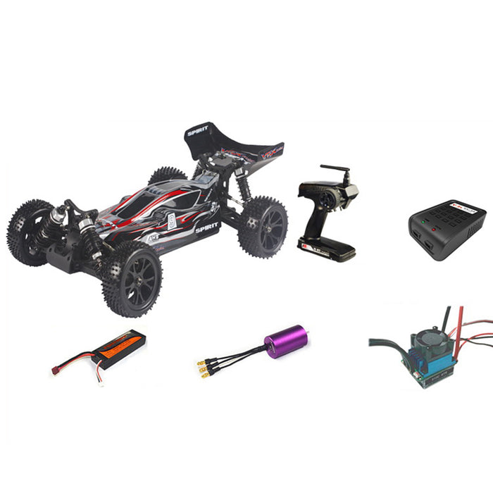 VRX RH1016 SPIRIT EBD 1/10 2.4G 4WD RTR Off-road Buggy RC Car - stirlingkit