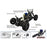 VRX RH1029 Flash-Rally 2.4GHz 1/10 4WD Nitro RTR Off-road Rally Methanol RC Car - stirlingkit