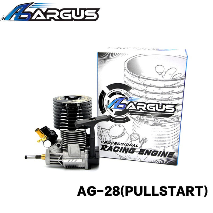 ARGUS-28 Pull Start Methanol Engine for 1/8 Vehicle - stirlingkit