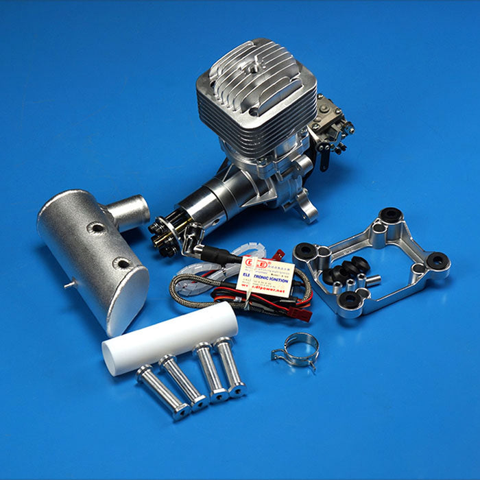 DLE85 85CC Gasoline Engine Single-cylinder Two Stroke Aircraft Engine for RC Model Planes - stirlingkit