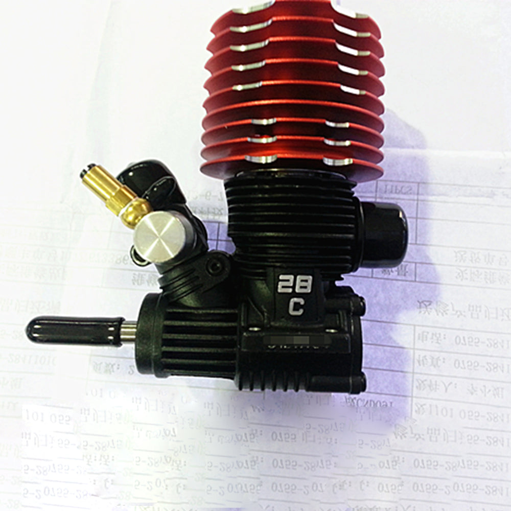 SH-28XM P8 4.57cc Methanol Engine for 1/8 Fuel Vehicle - stirlingkit