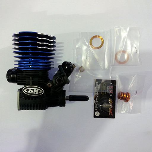 SH PT2012-XBG PRO 3.497cc Methanol Engine for 1/8 Fuel Vehicle - stirlingkit