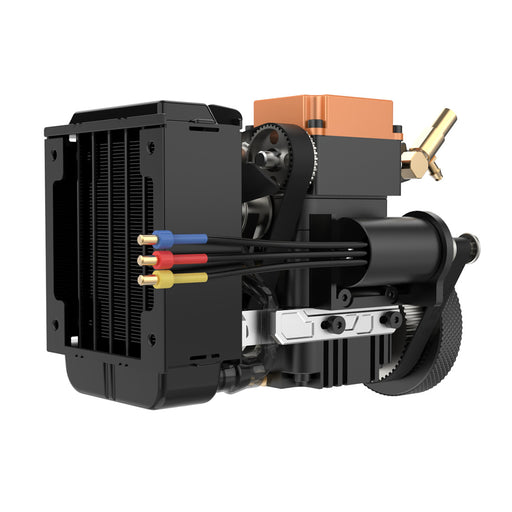 TOYAN FS-S100WA2 4 Stroke Methanol Engine Model With Water-cooled Pump Water-cooled Box - stirlingkit