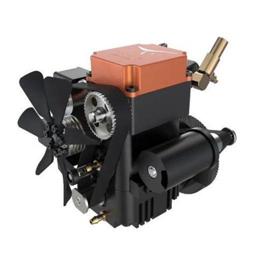 TOYAN FS-S100WA1 Single-cylinder Four-stroke Methanol Water-cooled Engine - stirlingkit