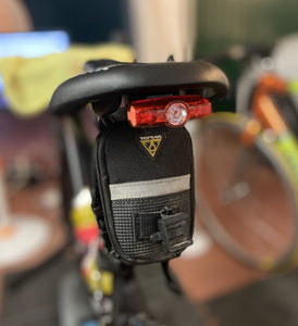 Logik bike light mount for Cateye Lights/Fizik Saddles