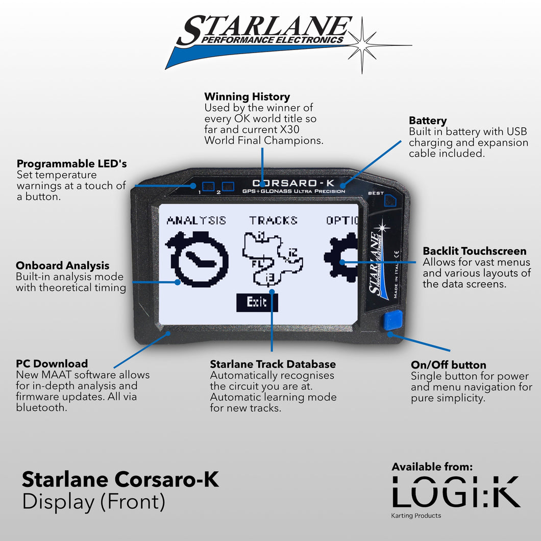 Starlane Corsaro-K Wireless Data System
