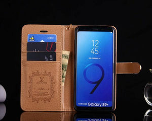 style case for Samsung galaxy s9/galaxy s9 Plus/S8/S20 Plus/s20 Note 20 Ultra/Note 10/9/ 8/5 leather wallet cover (Need You Select Size) FT1027-122