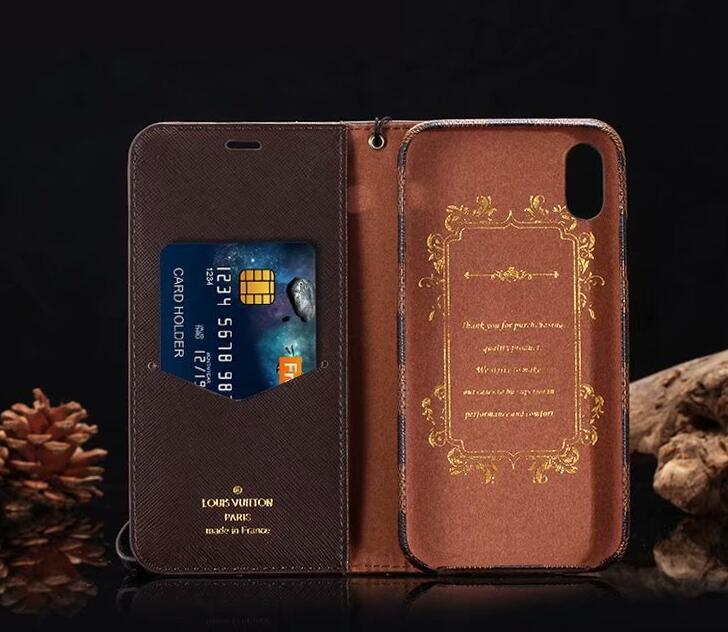 style case For iPhone XS MAX/XR/6S plus/7 plus/8 plus leather wallet cover FT1027-95