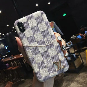 style case For iPhone XS MAX/XR/6S plus/7 plus/8 plus leather card slot cover FT1027-13