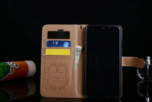style case For iPhone 11 Pro Max/XS MAX/XR/6S plus/7 plus/8 plus leather wallet cover (Need You Select Size) FT1027-59