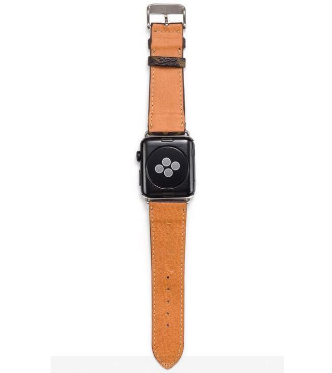 style leather strap, Apple watch strap, Black Damier band, Apple Watch 42 mm/38 mm FT1027-147