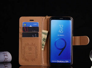 style case for Samsung galaxy s9/galaxy s9 Plus/S8/S8 Plus/s20 Note 20 Ultra/Note 10+9/8/5(Need You Select Size) leather wallet cover FT1027-127