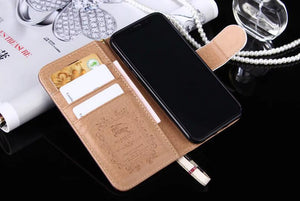 Hot CC style case For iPhone iPhone 11 Pro Max XS MAX/XR/6S plus/7 plus/8 plus cross bag strap cover FT1030 -aa3