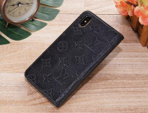 Genuine Leather wallet case For iPhone 11 Pro Max Xs Max/XR/6s plus/7 plus/8 plus (Need You Select Size) Ek981