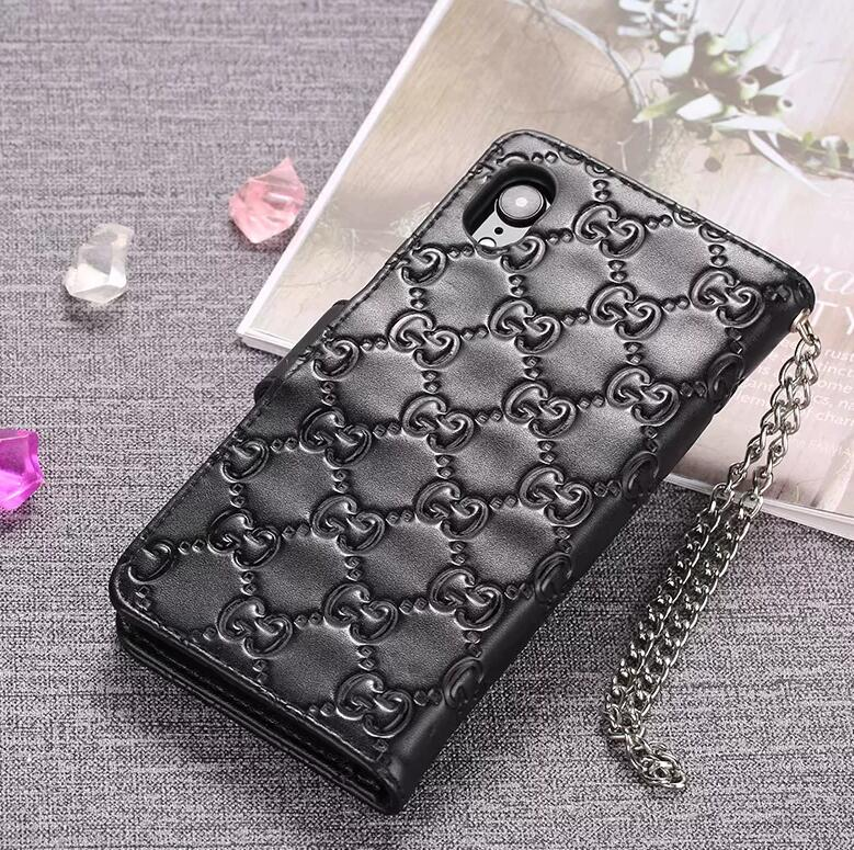 Genuine Leather style case For iPhone 11 Pro Max XS MAX/XR/6S plus/7 plus/8 plus (Need You Select Size) leather wallet case LT5GU1