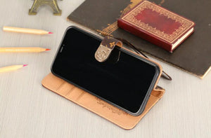 high quality leather wallet case For iPhone 11/iPhone 11 Pro/ iPhone 11 Pro Max/12 Pro Max /mini (Need You Select Size) 687t