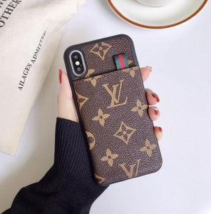 high quality leather case For iPhone 11 pro Xs Max/XR/6s plus/7 plus/8 plus  fg665