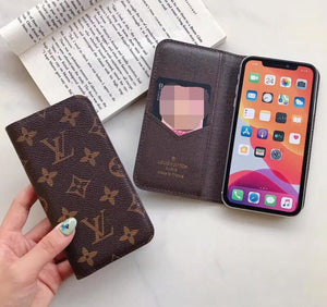 high quality leather wallet case (Need You Select Size)For iPhone 11 Pro/ iPhone 11 Pro Max 7/8Plus/IX MAX/YU7189